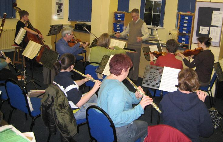 Coalville Light Orchestra on a Tuesday evening